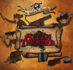 """Cover vom Pulveraffen-Album """"Affentheater"""""""