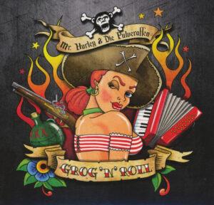 """Cover vom Pulveraffen-Album """"Grog'n'Roll"""""""