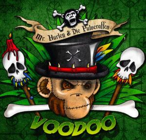 """Cover vom Pulveraffen-Album """"Vodoo"""""""