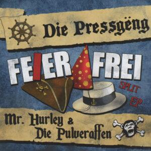 """Cover vom Pulveraffen-Album """"Feier Frei"""""""