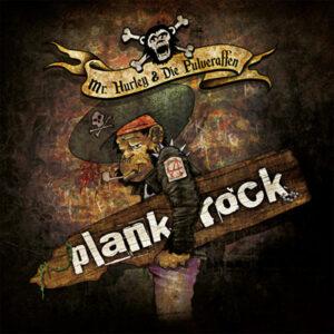 """Cover vom Pulveraffen-Album """"Plankrock"""""""